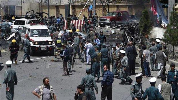 3rd explosion rocks military hospital in Afghan capital