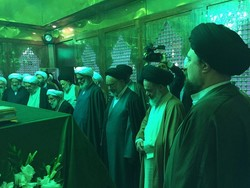 Assy. of Experts pay homage to Imam Khomeini