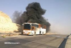کشته شدن ۱۳ نفر در حادثه دلخراش سنندج/۱۸ هزار لیتر سوخت آتش گرفت