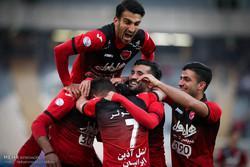 دیدار تیم های پرسپولیس تهران و استقلال خوزستان