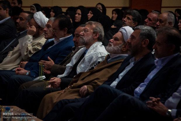 سفر علی لاریجانی رئیس مجلس شورای اسلامی به سمنان