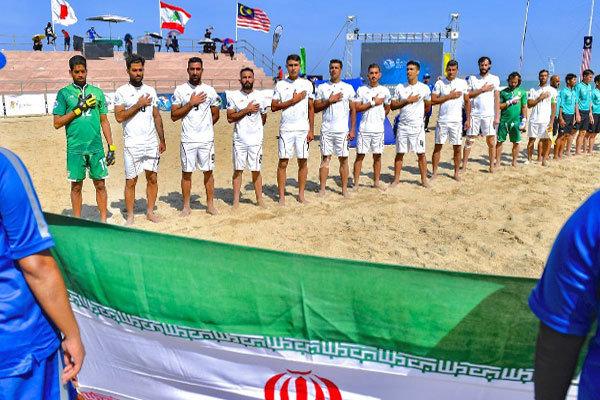 صعود تیم ملی فوتبال ساحلی ایران به جام جهانی و فینال آسیا