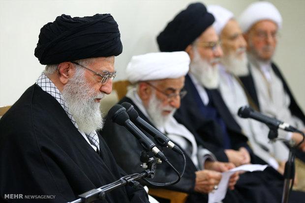 دیدار رئیس و اعضای مجلس خبرگان رهبری با رهبر معظم انقلاب اسلامی