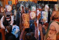 تظاهرات مردم بحرین در حمایت از شیخ عیسی قاسم
