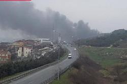سقوط بالگرد ترکیه در استانبول