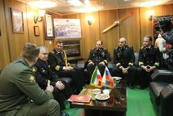 قادة المجموعة الحربية الإيرانية يلتقون نظرائهم الروس
