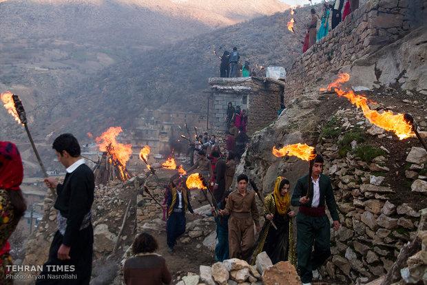 Nowruz festivities in Kurdistan