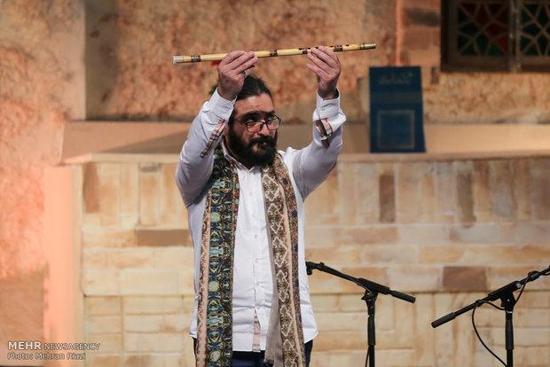 الأذربيجاني عليم قاسموف في حفل موسيقي مشترك في طهران