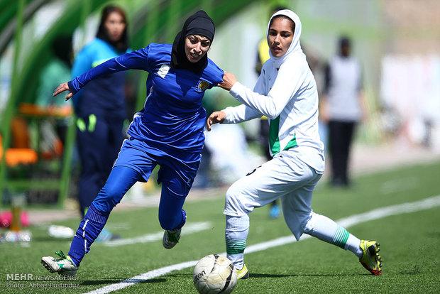 İran Kadın Futbol Süper Ligi'nden kareler