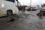 «باب مصلی» دمشق پس از وقوع ۲ انفجار تروریستی