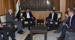 """وفد برلماني أوروبي في سوريا لتغيير """"مواقف أوروبا السلبية"""" تجاه دمشق"""