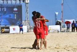 Iran garners gold in AFC Beach Soccer C'ship