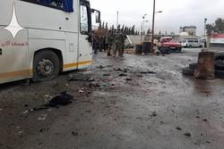 انفجار اتوبوس های حامل زوار در دمشق