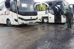 انفجار اتوبوس های حامل زوار در دمشق2