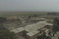 مناطق تازه آزاد شده در حومه شرقی حلب