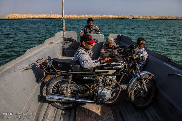 Hengam Island in Persian Gulf