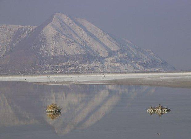 تصاویر اریک سولهایم از دریاچه ارومیه