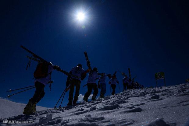 Afganistan'da kayak şampiyonası