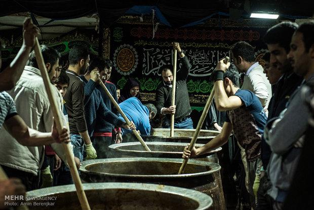 پخت سَمَنی در شیراز ( سمنو )