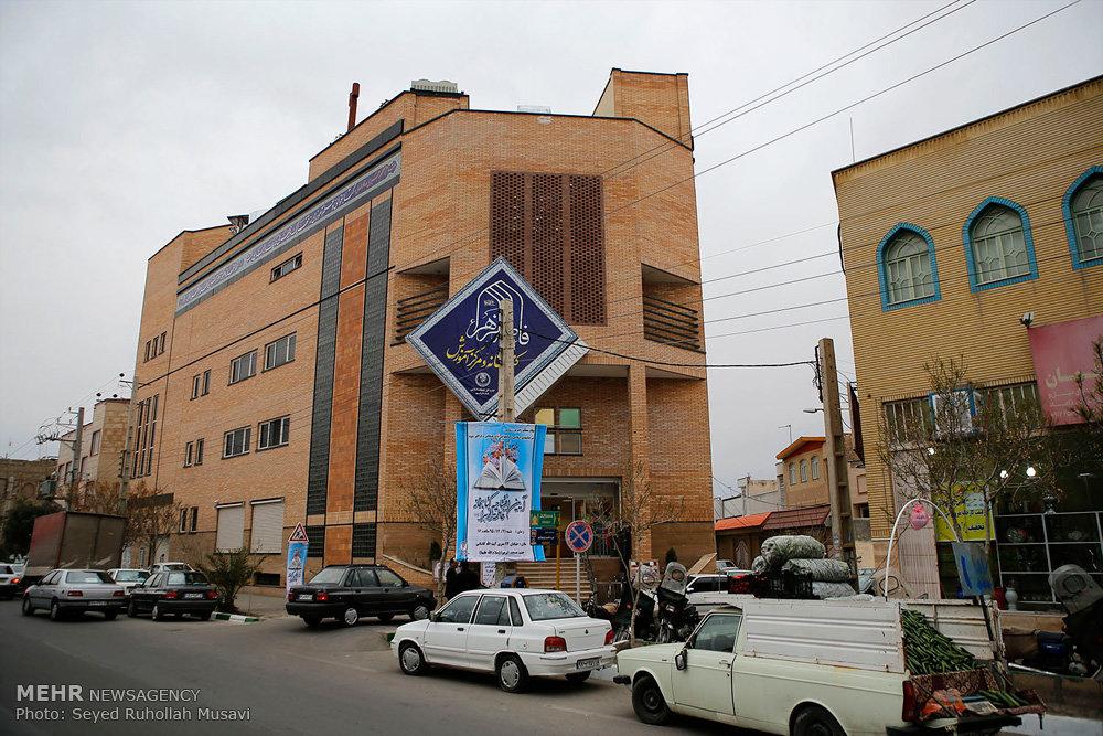 مراسم بهرهبرداری از کتابخانه و مرکز فرهنگی حضرت فاطمه زهرا(س)