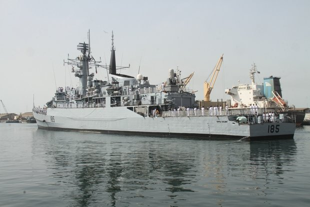 Navy's 46th flotilla off to uncharted waters