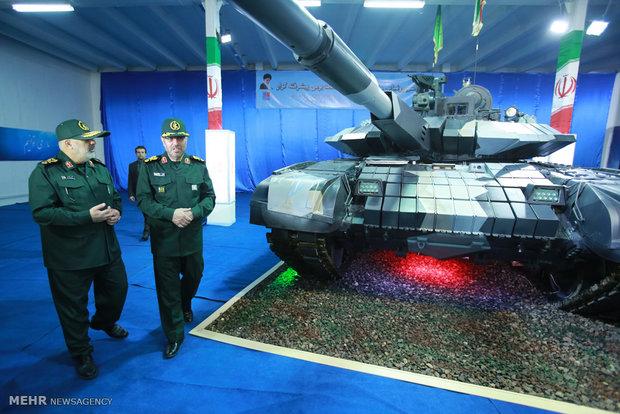 Defense Ministry unveils Karrar Tank