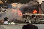 حمله انتحاری به نیروهای خارجی در کابل