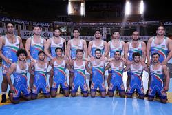 بطولة العالم للمصارعة الرومانية : فوز ايران على المانيا 7/1