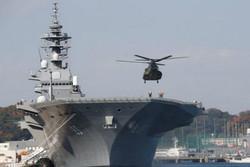حرکت ناوشکن ژاپنی به سمت خاورمیانه در میانه بحران کرونا