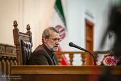 نشست خبری علی لاریجانی رئیس مجلس شورای اسلامی