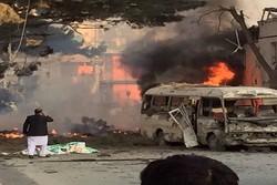 قتلى وجرحى بانفجار قرب السفارة الأمريكية في أفغانستان