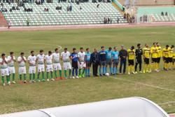 بازی فوتبال بین خیبر خرمآباد و فجر سپاسی شیراز بدون گل به پایان رسید