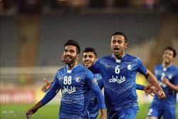 دیدار تیم های استقلال ایران و لوکوموتیو ازبکستان