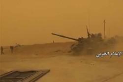 پیشروی های ارتش سوریه در حومه تدمر
