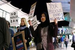 تظاهرات علیه دستور مهاجرتی جدید ترامپ