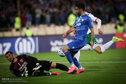 شکست استقلال مقابل لوکوموتیو ازبکستان در نیمه نخست