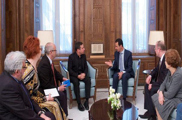 بشار  الأسد  : السياسات الخاطئة التي انتهجتها اوروبا تجاه سورية أدت إلى انتشار الإرهاب