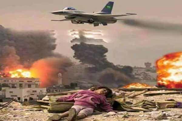 العدوان السعودي يقصف بالذخائر العنقودية مناطق في صعدة اليمنية