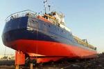 شناور ۳۰۰۰ تنی «اهورا» توسط وزارت دفاع تعمیرات اساسی شد