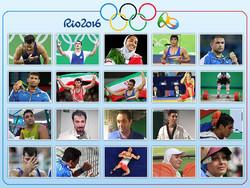 مدال آوران و ناکام های المپیک