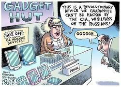 CIA's 'Vault 7' surveillance programs