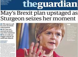 صفحه اول روزنامههای انگلیسی