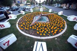 ساعت گل شیراز