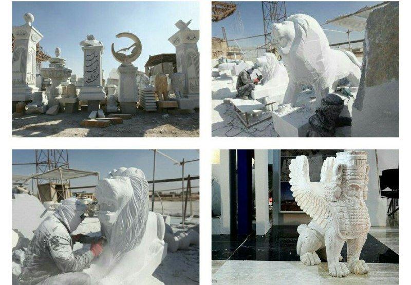 گشتی در معابد قدیمی البرز/تولد مجسمههای سنگی در جاده قدیم کرج