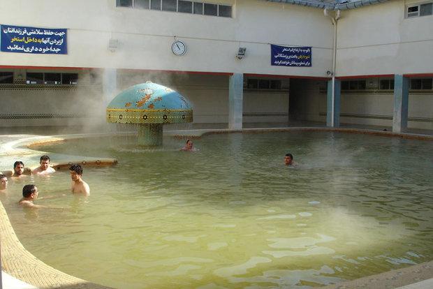 Image result for عکس آب گرم محلات