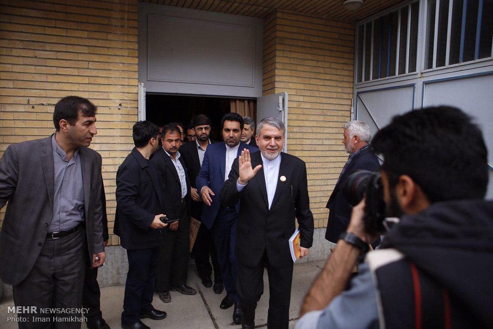 سفر سید رضا صالحی امیری وزیر فرهنگ و ارشاد اسلامی به استان همدان