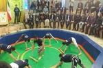 مراسم ورزش زورخانه ای نیروهای مسلح برگزار شد
