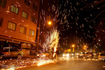 What remains of Chaharshanbe Suri, eve of last Wed. before Nowruz