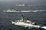 Pakistan Navy ships on goodwill visit to Bandar Abbas