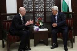 «گرینبلات» خواستار سفر «محمود عباس» به غزه شد